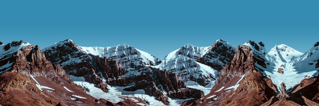 The background mountain image used by the Aerial theme